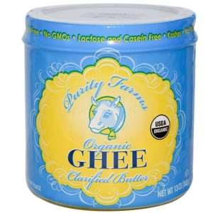 I really love this organic ghee.